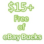 How to Get $15 or More of Free Ebay Credit